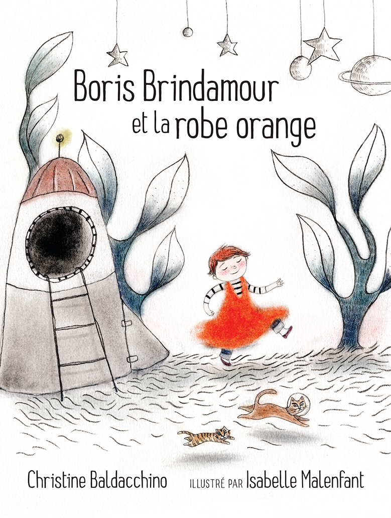 Boris Brindamour et la robe orange
