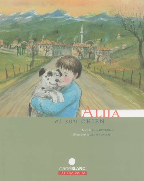 Alija et son chien